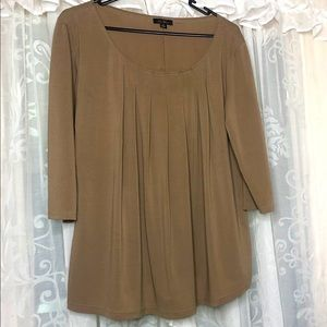 NEW COVER Taupe blouse